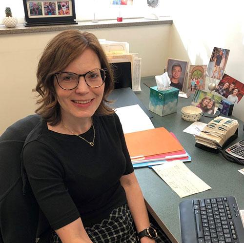 Jen Orwig, Research Manager of Orwig Laboratory