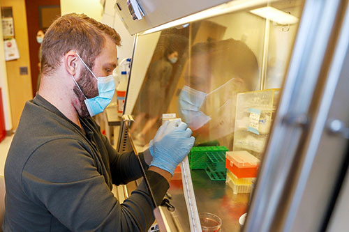 Mitch Harancher, Graduate Student in the Orwig Laboratory